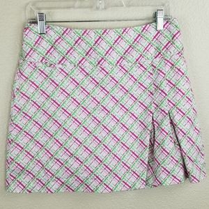 Lady Hagan Pink Breast Cancer Ribbon Golf Skort 6
